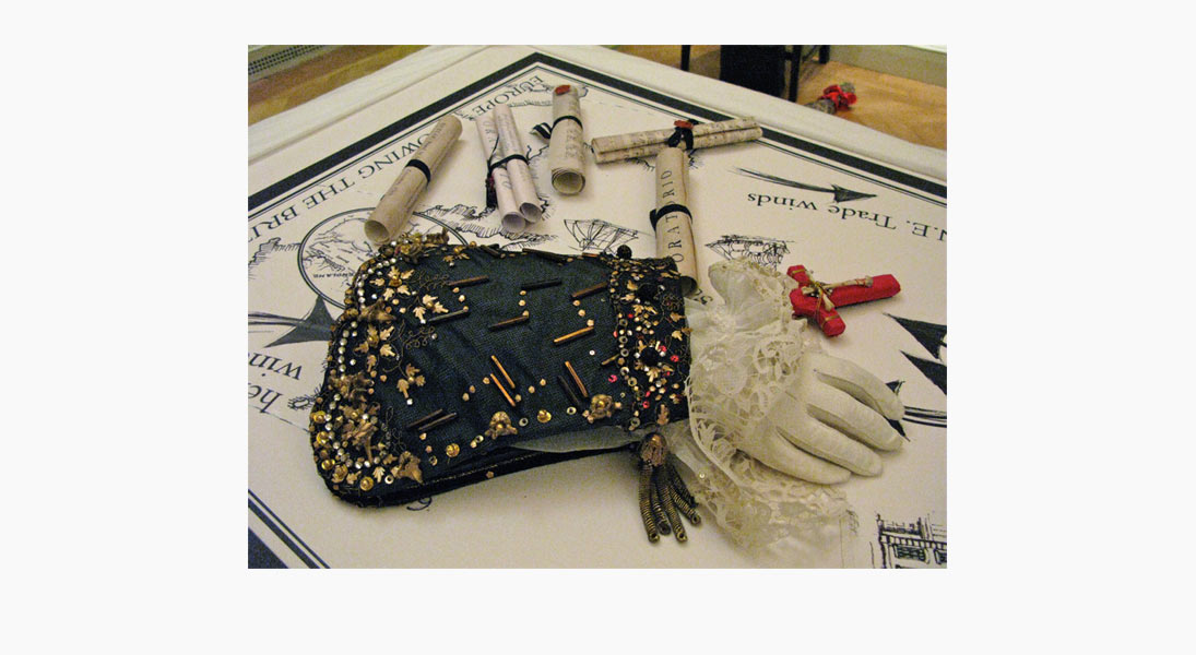 Mr Handel's glove
